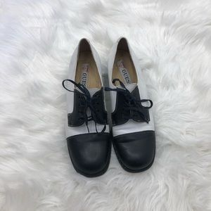 Guess Oxford Heels Size 7